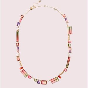 Kate Spade Geo Gems Collar Necklace NWT